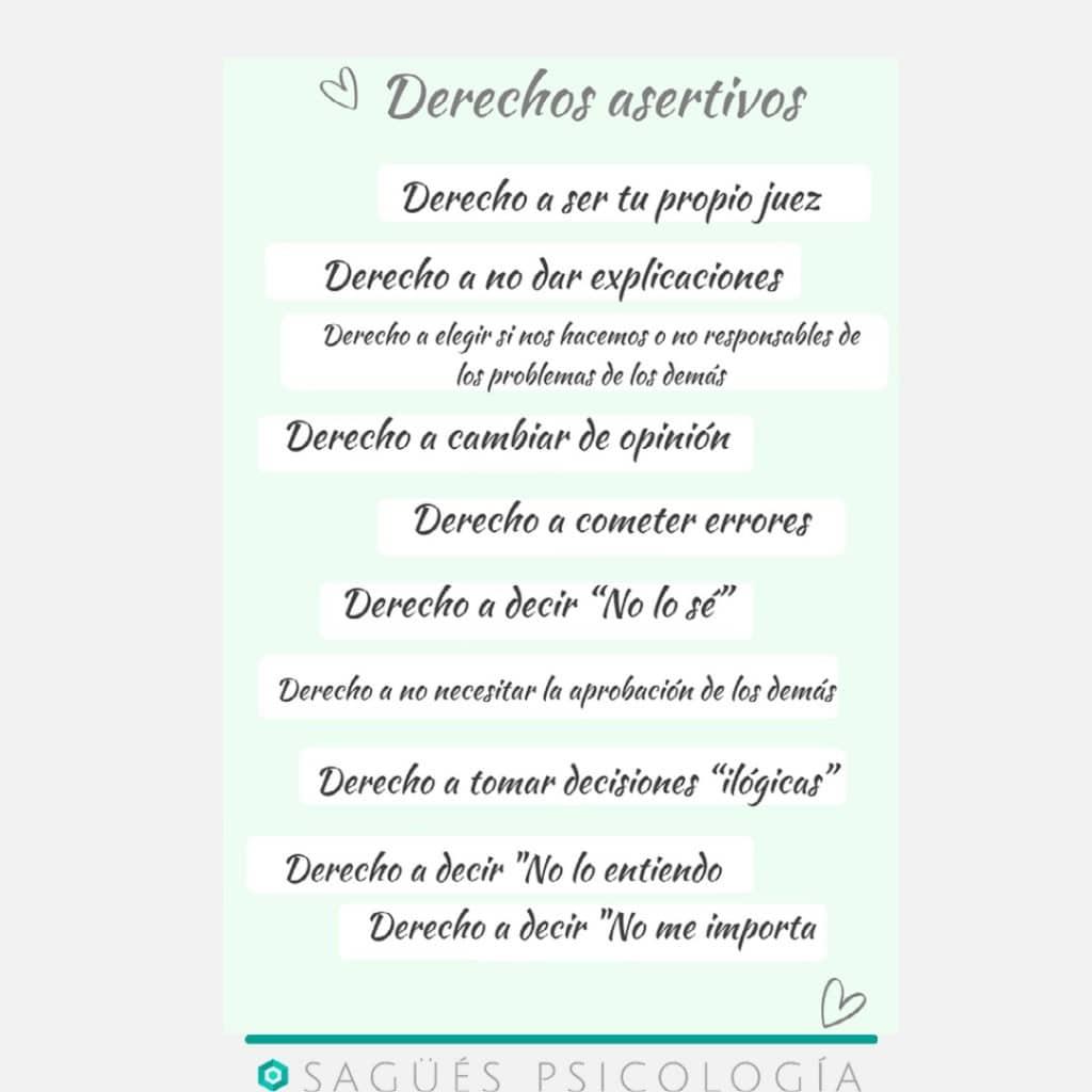 Interior Asertividad Sagüés Psicología Oviedo
