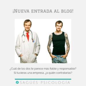 Efecto halo portada sagüés psicología Oviedo