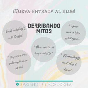 Mitos portada sagüés psicología Oviedo